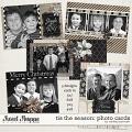 Tis The Season Photo Cards by Melissa Bennett