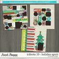 Brook's Templates - Trifecta 10 - Holiday Spirit by Brook Magee