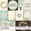 Woodland Winter: CARDS by Studio Flergs