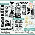 Cindy's Photostamps - Family Set 1 by Cindy Schneider