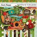 Sprouting Up: In the Garden by Kristin Cronin-Barrow