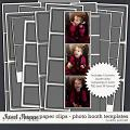 Paper Clips - Photo Booth Templates by Libby Pritchett