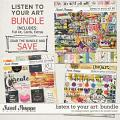 Listen to Your Art: Bundle by Blagovesta Gosheva & Studio Basic Designs
