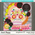 Brook's Templates - Singleton 27 - Sugar Skull  by Brook Magee
