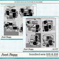 Cindy's Layered Templates - Bundled Sets #205-206 by Cindy Schneider