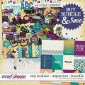 My Zodiac - Aquarius : Bundle by Amanda Yi & Juno Designs