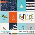 Backyard Boys Cards by Dream Big Designs