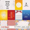 My Zodiac - Aries : Cards by Amanda Yi & Juno Designs