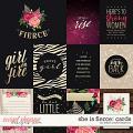 She is Fierce: Cards by Kristin Cronin-Barrow