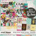 Sing your heart song {bundle} by Amanda Yi & Blagovesta Gosheva