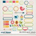 Life 2016-April: Labels by Melissa Bennett