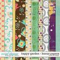 Happy Garden - Bonus Papers by Red Ivy Design