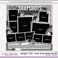 Cindy's Layered Templates - Single 143: Lots of Snapshots 85 by Cindy Schneider