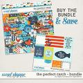 The Perfect Catch Bundle by Digital Scrapbook Ingredients