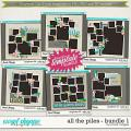 Brook's Templates - All the Piles - Bundle 1 by Brook Magee