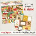 Friends, Food And Fun Bundle by Digital Scrapbook Ingredients