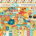Summer Bucket List by Digital Scrapbook Ingredients