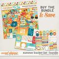 Summer Bucket List Bundle by Digital Scrapbook Ingredients