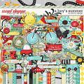 A Boy's Summer by Red Ivy Design