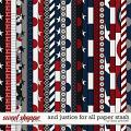 And Justice For All Paper Stash by Libby Pritchett