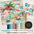 For the Love of Summer {Beach} Bundle by Digilicious Design