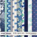 Wide Open Sea - Bonus Papers by Red Ivy Design