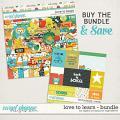 Love To Learn Bundle by Digital Scrapbook Ingredients
