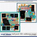 Cindy's Layered Templates - Half Pack 163: California Magic by Cindy Schneider