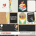 Back 2 School: CARDS by Studio Flergs