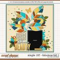 Cindy's Layered Templates - Single 157: Fabulous Fall 1 by Cindy Schneider
