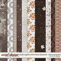 Chilly Nights and Warm Blankets - Bonus Papers by Red Ivy Design