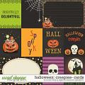 Halloween Creepies | Cards by Studio Flergs & Digital Scrapbook Ingredients