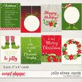 Jolly Elves: Cards by lliella designs