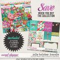 Jolly Holiday Bundle by Studio Flergs & Digital Scrapbook Ingredients