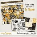 Holiday Sparkle Bundle by Digital Scrapbook Ingredients