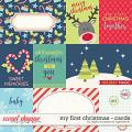 My First Christmas | Cards by Digital Scrapbook Ingredients