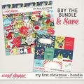 My First Christmas Bundle by Digital Scrapbook Ingredients