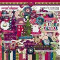 Santa's Coming by Red Ivy Design