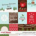 Christmas Woods | Cards by Kristin Cronin-Barrow & Digital Scrapbook Ingredients
