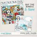 Winter Walk Bundle by Digital Scrapbook Ingredients