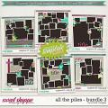 Brook's Templates - All the Piles - Bundle 3 by Brook Magee