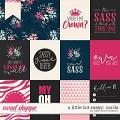 A Little Bit Sassy: Cards by Kristin Cronin-Barrow
