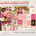 Get Festive: Valentine's Day Bundle by Kristin Cronin-Barrow & Digital Scrapbook Ingredients
