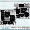 Cindy's Layered Templates - Half Pack 180: Page Fillers 18 by Cindy Schneider