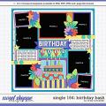 Cindy's Layered Templates - Single 164: Birthday Bash