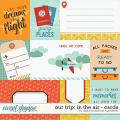Our Trip: In The Air | Cards by Digital Scrapbook Ingredients