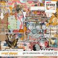 Go To Elements: Art Journal #5 by Studio Basic