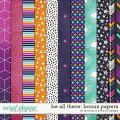 Be All There - Bonus Papers by Amanda Yi and Red Ivy Design