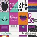 Be All There - Cards by Amanda Yi and Red Ivy Design