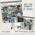 Little & Big Mister Bundle by Digital Scrapbook Ingredients
